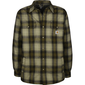 Carhartt Hubbard Sherpa Shirt Men, military olive